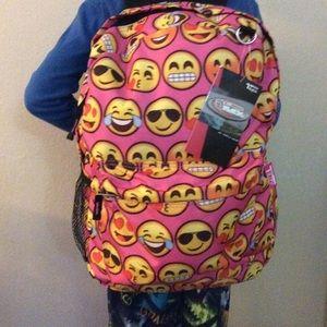 d720ee5e5ee1 Accessories - BLACK EMOJI SCHOOL BACKPACK LUNCH BOX SET -free 🎁